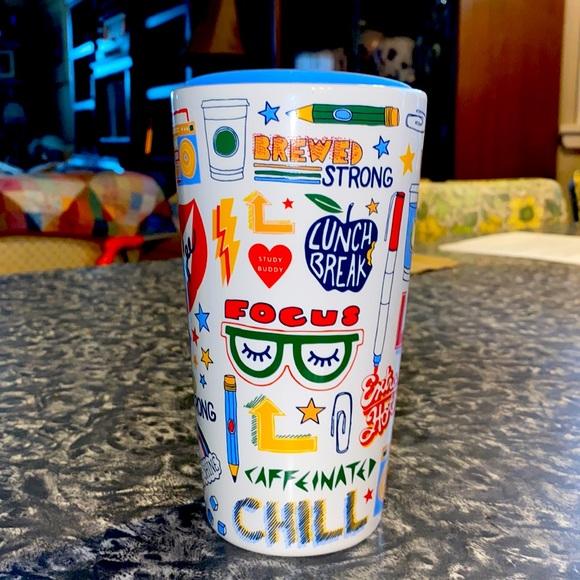 2020 Starbucks Back 2 To School Retro Teacher Mug